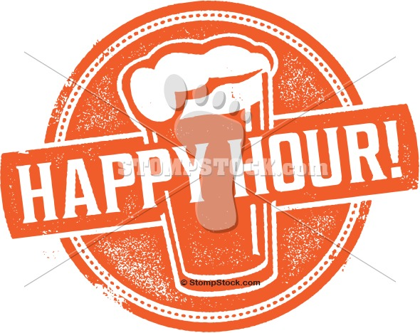 Happy Hour Beer Clip Art