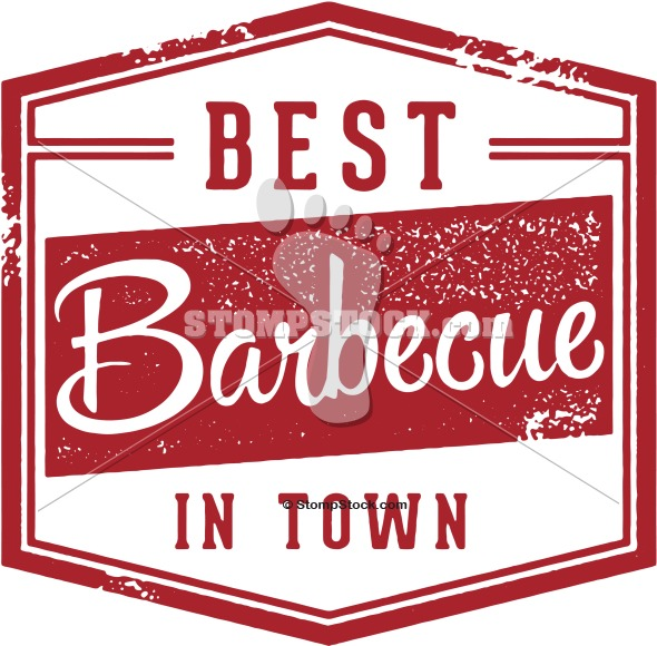 Vintage BBQ Barbecue Menu Sign