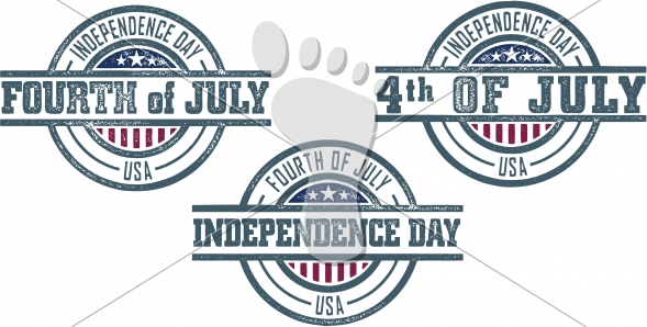 Fourth (4th) of July Independence Day Stamps USA
