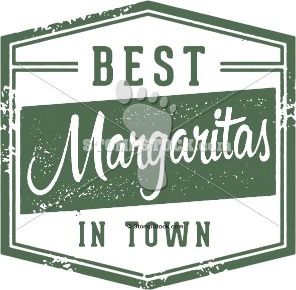 Vintage Margarita Cocktail Sign