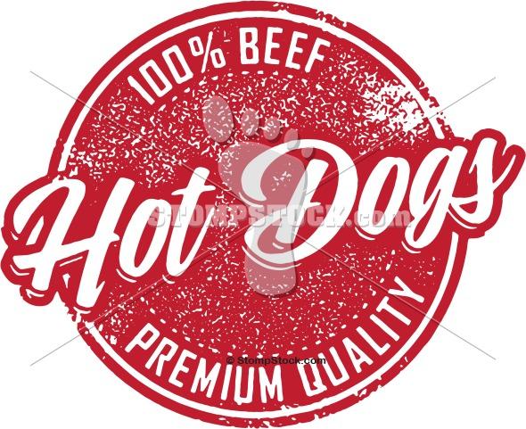 Vintage Hot Dog Sign