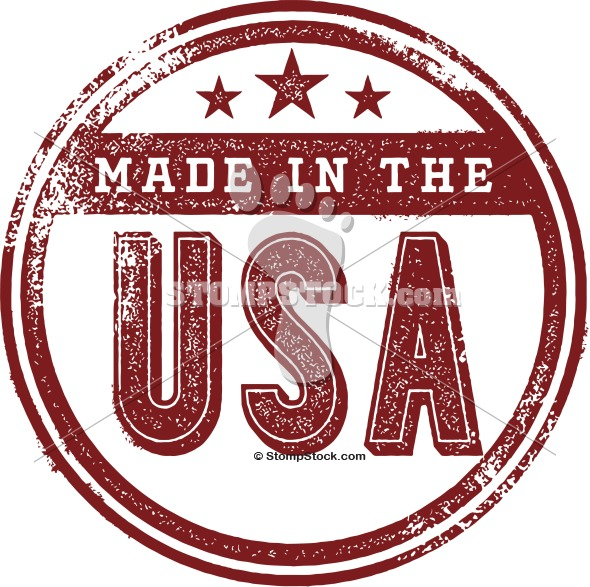Made in USA Product Stamp