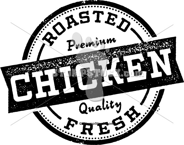 Vintage Roasted Chicken Graphic