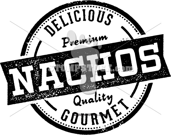 Vintage style Nachos clip-art