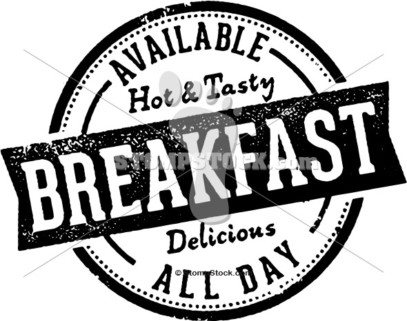 Vintage Breakfast All Day Sign