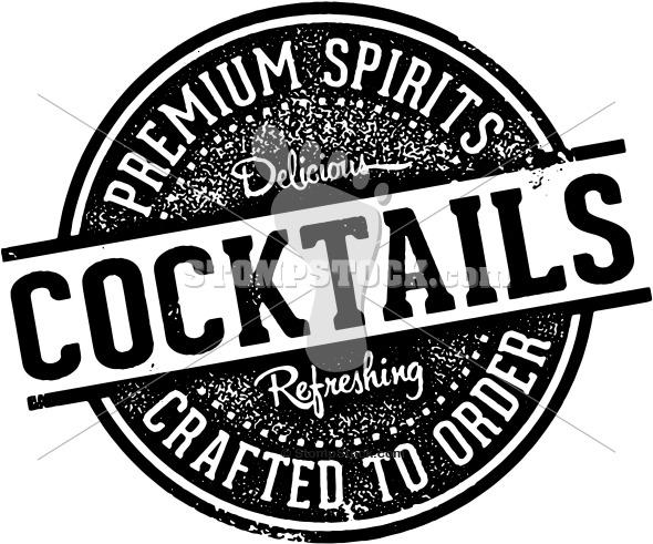 Vintage Cocktails Sign