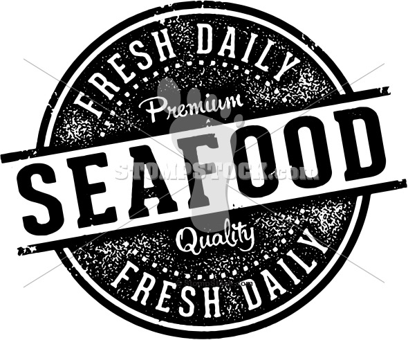 Vintage Fresh Seafood Sign