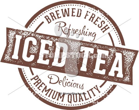 Vintage Iced Tea Graphic