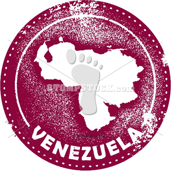 Venezuela Stock Stamp Image