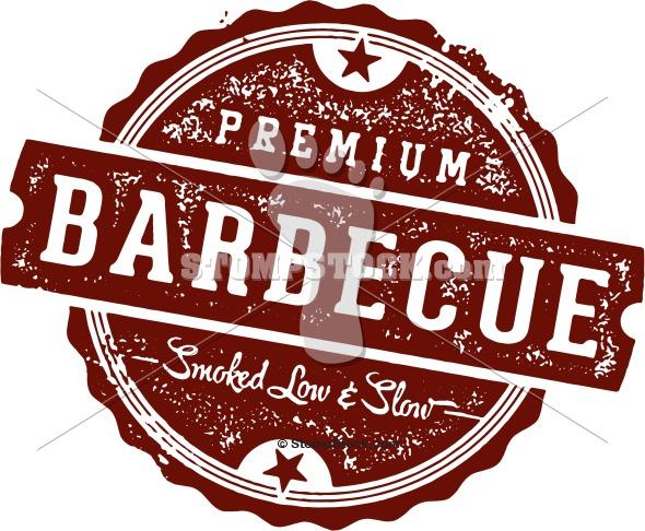 Barbecue Menu Design Stamp