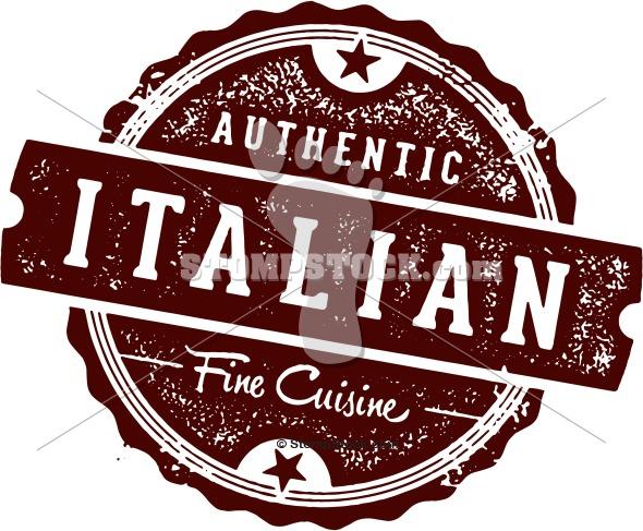 Authentic Italian Restaurant Menu Design