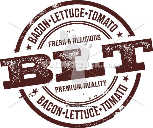 BLT – Bacon Lettuce & Tomato Menu Stamp