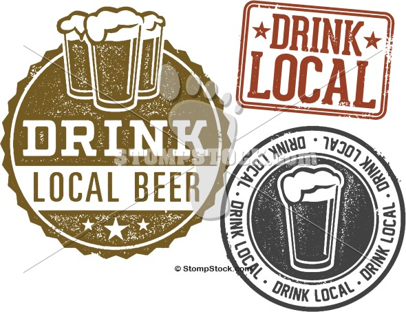 Drink Locally Brewed Craft Beer