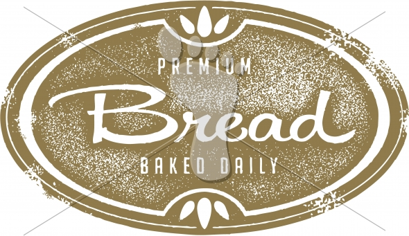 Vintage Fresh Bread Bakery Graphic