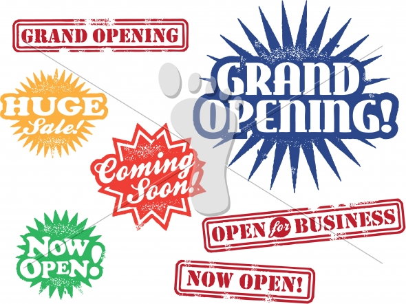 New Business-Store Grand Opening Graphics