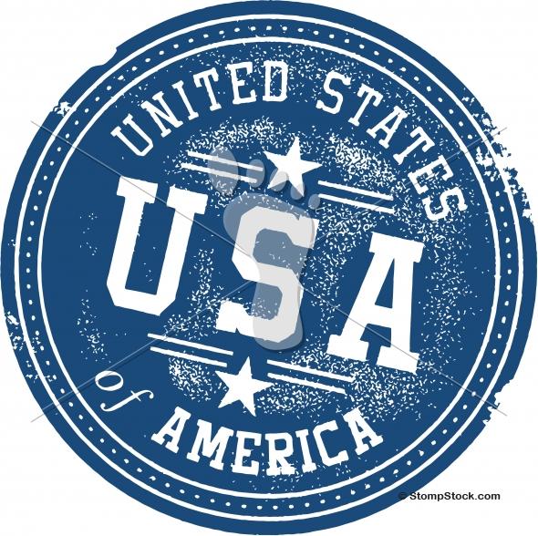 Vintage United States of America USA Stamp