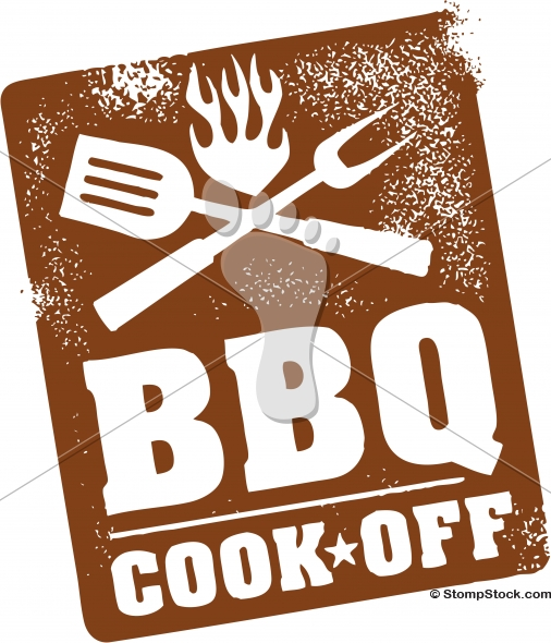 Barbecue BBQ Cook Off Contest Graphic
