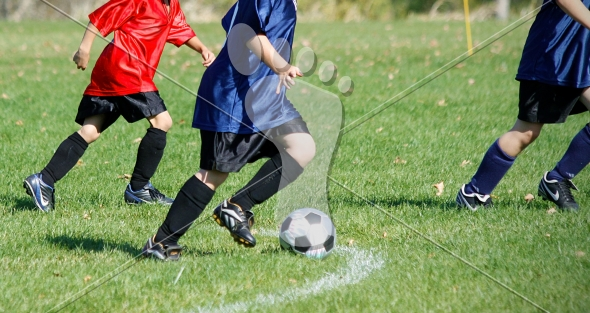 Youth Soccer Game