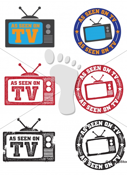 As Seen on TV Logos