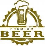 premium beer logo