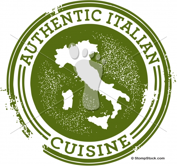 Authentic Italian Food Resturant Graphic