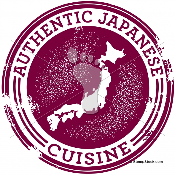 Authentic Japanese Food Restaurant Graphic