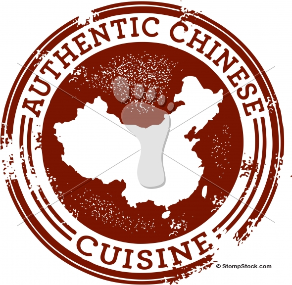 Authentic Chinese Food Restaurant Graphic