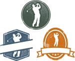 Golf Vector Artwork