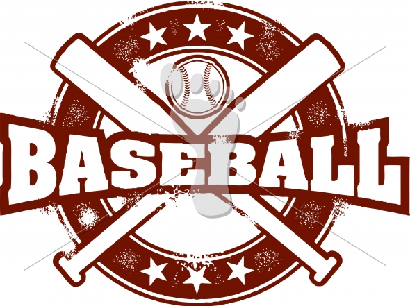 Vintage Baseball Sport Vector
