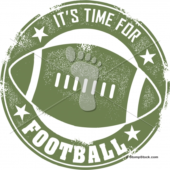 It's time to play football! Vector Design