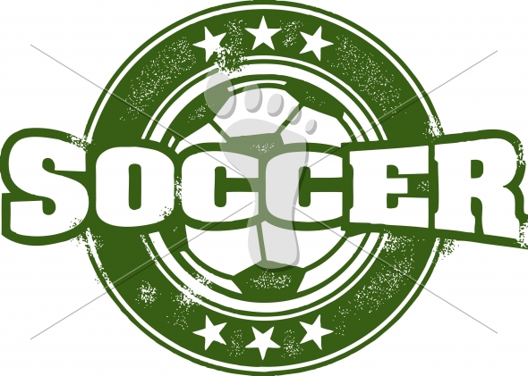 Vintage Soccer Sport Vector
