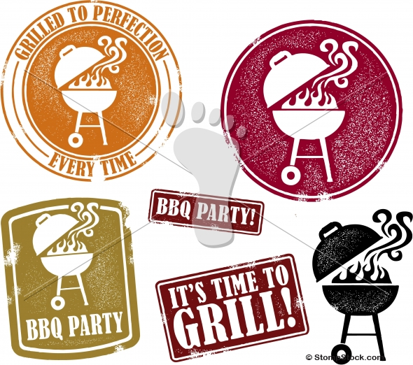 Barbecue BBQ Grill Vector Designs