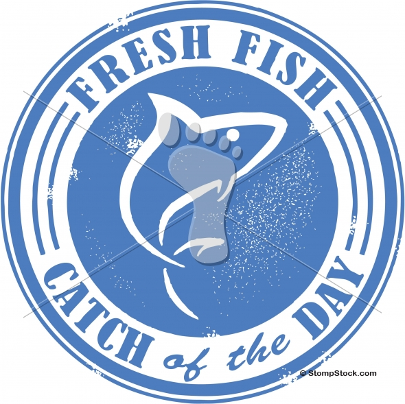 Catch of the Day Fish Stamp