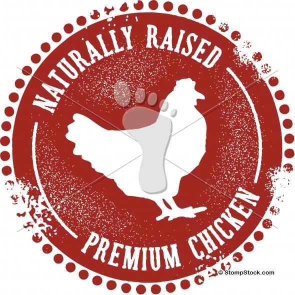 Vintage Style Premium Chicken Design
