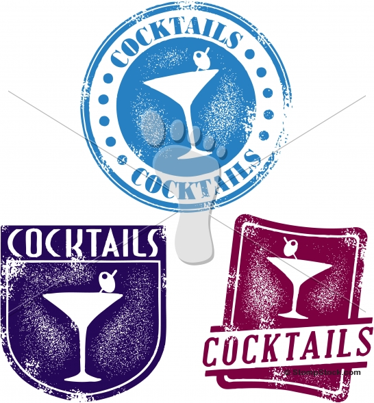 Vintage Cocktail Bar Menu Designs