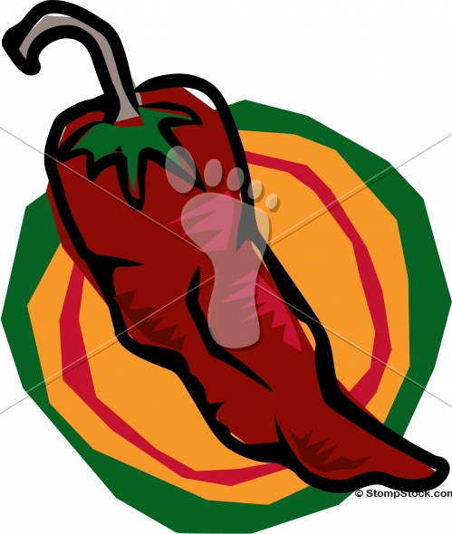 Chili Pepper Graphic Design