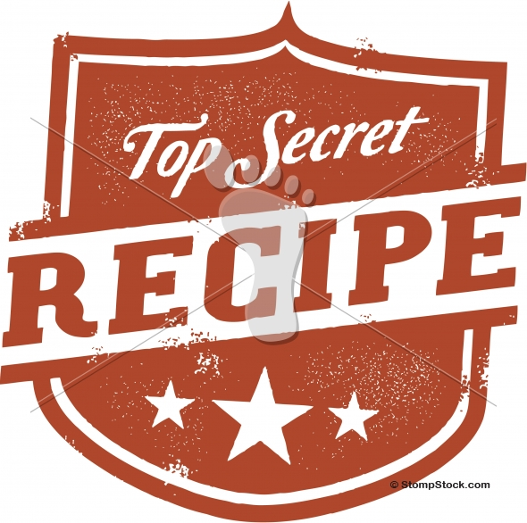 Top Secret Recipe Design