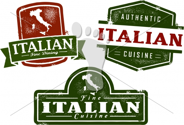 Vector Italian Restaurant Graphics