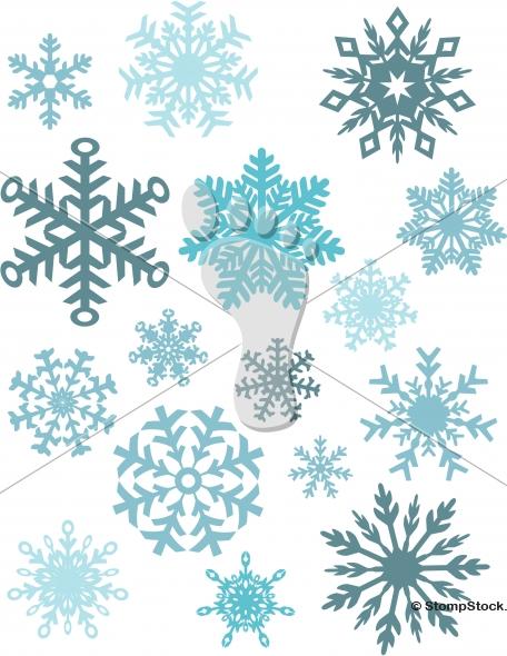 Vector Winter Snowflakes