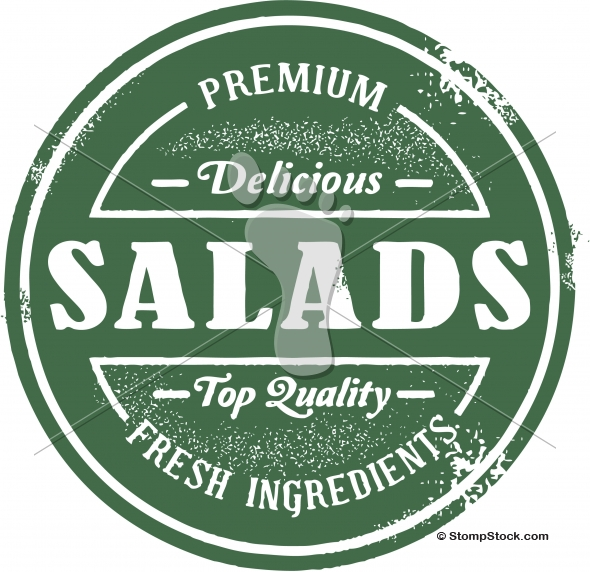 Premium Fresh Salads Graphic